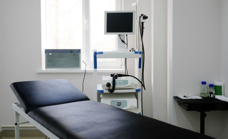 colonoscopy medical room