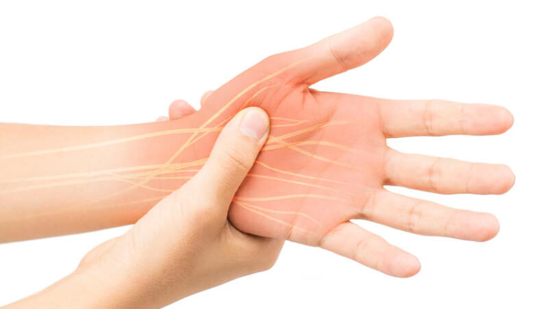 nerve pain in the hand